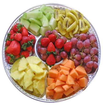 fruits plateau