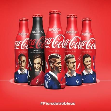 packagings euro 2016 - Coca cola - packaging produit