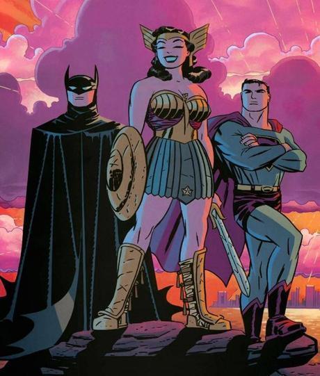 Batman wonder Woman Superman Darwyn Cooke