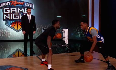 Brandon Armstrong , imitateur des stars NBA, fait le show chez Jimmy Kimmel
