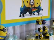 avant Minion Party fournitures.