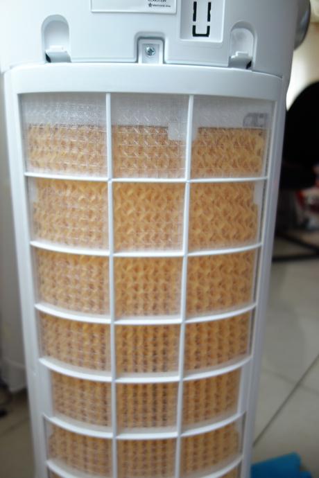 avis sur le ventilateur rafra chisseur d air maxfresh wh de klarstein paperblog. Black Bedroom Furniture Sets. Home Design Ideas