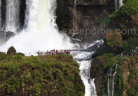 Les chutes d'Iguazu en famille