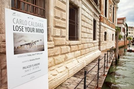 Exposition Carlo Caldara au palais Flangini à Venise