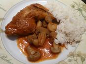 Cuisses poulet rouge