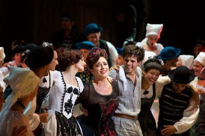 Victoria et son hussard au Prinzregententheater de Munich: entraînant, drôle, bourré de talent et d´émotion