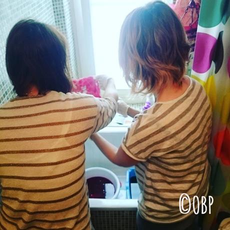 Atelier de customisation spécial teinture textile #coloria #weloveprema