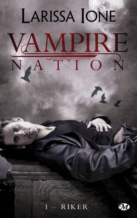 Couverture Vampire Nation, tome 1 : Riker