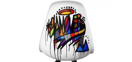 Déco street art : découvrez les chaises graffées de Dalas Randalas