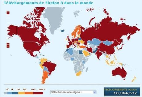 Firefox 3 bat des records