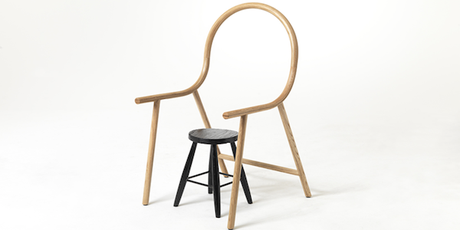 DESIGN : The 'no chair' by Clark Bardsley