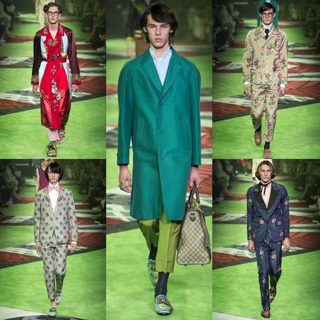 La collection estivale masculine 2017 Gucci...