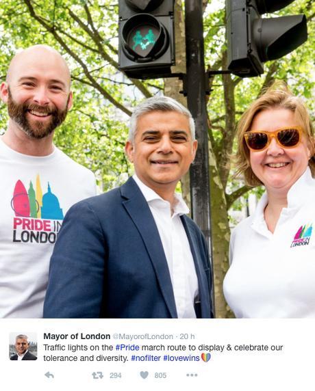 Londres installe des feux piétons « Gay-friendly »