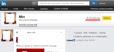 nombre de contacts sur linkedin
