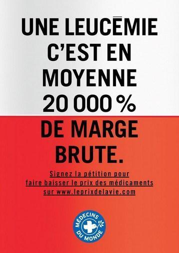 mdm - leucémie 20000 pct marge brute