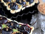 Tarte cerises pistache