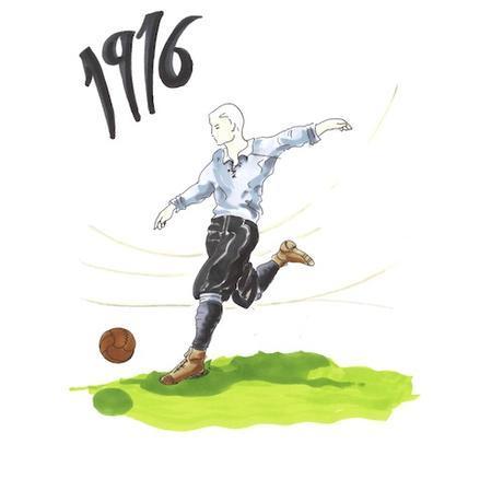 Comment ont évolué les tenues de football en un siècle ?