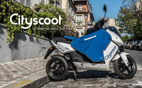 L'Autolib version scooter débarque à Paris !