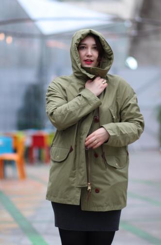 blog mode nantes look de pluie parka aigle