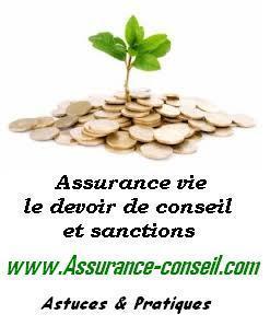 devoir conseil assurance vie sanction