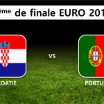 8ème de finale : Croatie Portugal