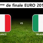 8ème de finale : France Irlande