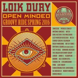 Loik Dury : Open Minded mixtape