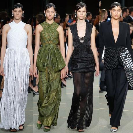 La collection Haute Couture Givenchy automne 2016...
