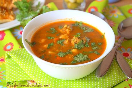 Chorba soupe tunisienne