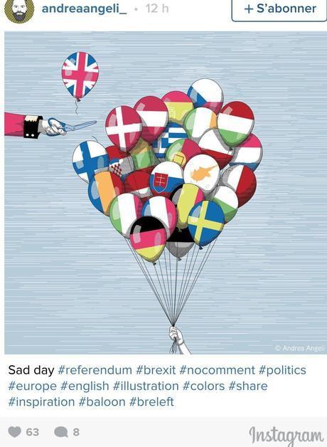 Il fallait s'y attendre, les créatifs s'en donnent à cœur joie face au #Brexit !