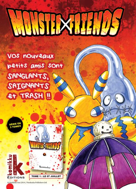 Monster friends ANNONCE PRESSE