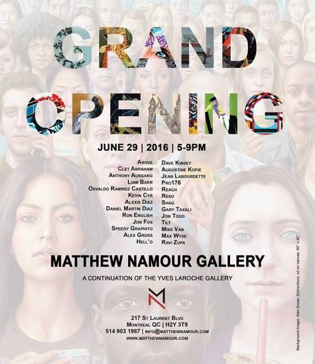 Une nouvelle institution pour l'art urbain - Galerie Matthew Namour-0