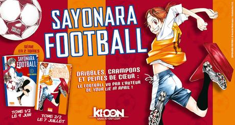 Sayonara football - Trailer des éditions Ki-Oon