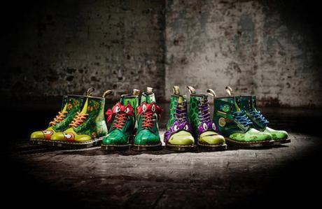 SHOES : Dr. Martens x Teenage Mutant Ninja Turtles