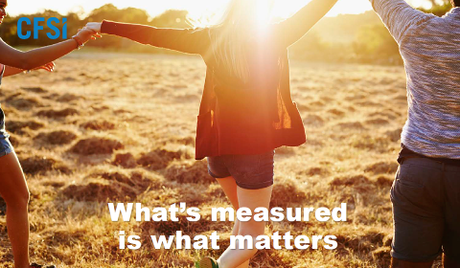 What's measured is what matters
