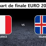 Quart de finale : France Islande