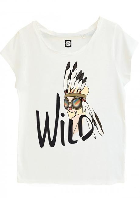t-shirt-be-wild-be-parisian-Charonbellis