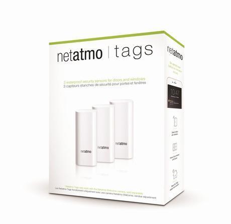 La caméra Netatmo Welcome se pare de tags de sécurité