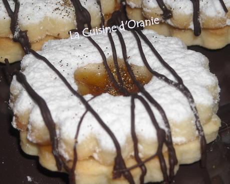 SABLES FONDANTS A LA CONFITURE