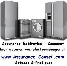 assurance habitation electromenager