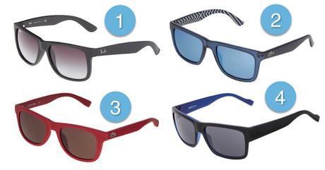 indispensable pour la plage homme lunettes de soleil