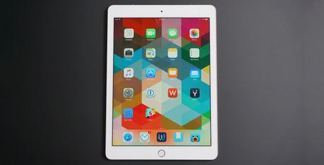 Banc d'essai de l'iPad Pro de 9,7pouces