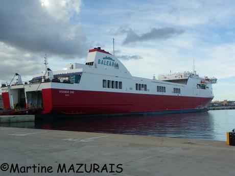 16-10-2012 - 427 - Palma - Le port - Balearia - Visemar One_new