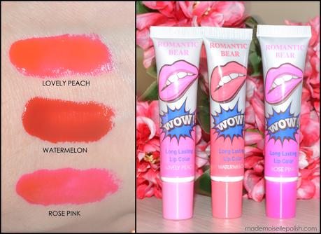 Romantic Bear - Long Lasting Lip Gloss