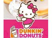 Europe Dunkin' Donuts Hello Kitty