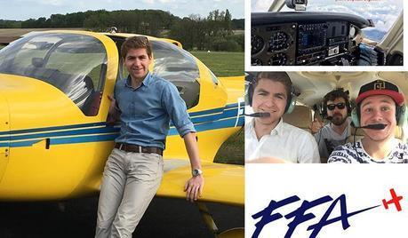 Jean-Baptiste Bigouin (IPSA promo 2018) en route pour le HOP ! Tour des Jeunes Pilotes 2016