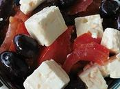 Salade tomates grecque [#greece #greekfood #salade #summer]