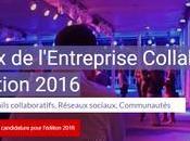 votre projet collaboratif remportait Prix l'Entreprise Collaborative 2016