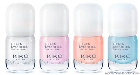Frozen Smoothies de chez Kiko