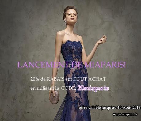 BON PLAN : Robes de Soirées Sur Mesure par MiaParis